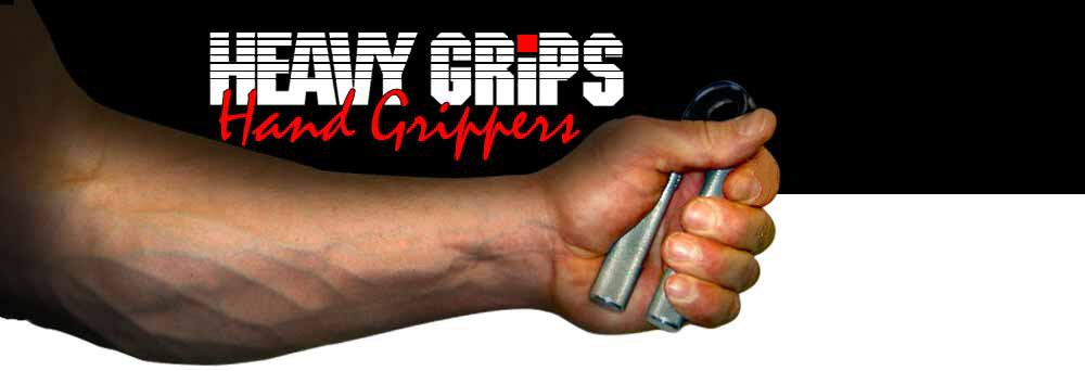 Get a grip on a Heavy Grip Hand-gripper from Heavy Sports! Our heavy-duty handgrippers are an affordable strength building tool for all types of athletes and consumers. The Heavy Grips are manufacturered with machined aluminum handles and HUGE torsion springs to give a lifetime of use! The Heavygrips make a perfect gift for the athlete in your life and our 6 different levels guarantees that there is a level for the beginner, advanced and the new Grip Monster HG350!!